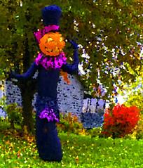 Autumn Means Halloween (soniaadammurray - On & Off) Tags: iphone manipulated experimental abstract lightroom photoshop autumn nature seasons shadows reflections exterior look appreciate beauty halloween collaboration barbarastanzak colours artchallenge spotlightyourbestgroup shocktober