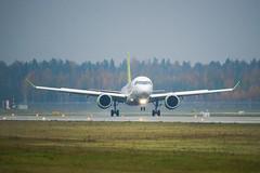 Riga Airport spotting Oct 2019 (Sergey Melkonov) Tags: red avgeek aviofotolv rix spotting planespotting rigaairport airbuscs300 sony a99m2 ilcaa99m2
