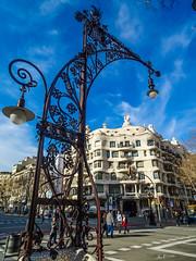Barcelona_Casa Milá (Joachim Spenrath Münster, Germany) Tags: casamilá barcelona catalonia spain gaudi