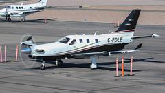 SOCATA TBM 900 C-FDLE (ChrisK48) Tags: kdvt 2014 aircraft airplane socatatbm700 cfdle phoenixaz dvt tbm900 phoenixdeervalleyairport