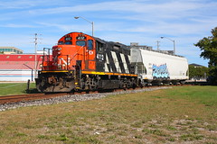 Heavy Haul (Joseph Bishop) Tags: cn 4112 emd gp9rm cnburfordspur brantford trains train track tracks railfan railroad railway rail r rails