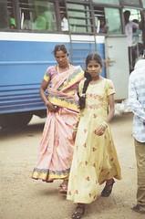 (Jerry501) Tags: girl india travel roadtrip 85mm nikonf4 kodakfarbwelt100 expired film analog portrait