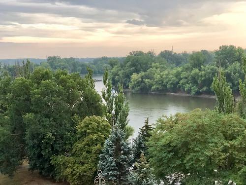 A pleasant early summer evening in Tiraspol