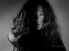 """Take My Hand, It's Safe"" Model: Georgie Skitt (Bina Fellowes) Tags: drama blackandwhiteportrait bnw lowkey dramaticportrait georgieskitt"