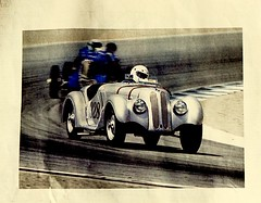 car race (bluebird87) Tags: cars newspaper film dx0 c41 epson v600 kodak ektar nikon f100