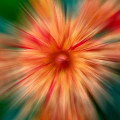 Dahlia At Warp Speed (Explored) (melmark44) Tags: explored inexplore explore dahlia warpspeed radialblur zoomblur blur colors colorful boldcolors bold red green orange yellow photoshop creative filter abstract macro selectivefocus closeup squareformat radialfilter plant nature flower flowers flora fleurs shallowdepthoffield dof wideaperture f28 macrolens macrophotography garden overcast naturallight availablelight livingplant backyard daylight petals canoneos5dmarkiv ef100mmf28macrousm canon fullframesensor fullframe photography botanical dahliapaintersunfire tripod burst speed space thefinalfrontier artistic warpdrive favorites200 favorite 200favorites 9000views