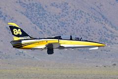 "L-39C N247SG ""Tumbling Goose"" (Ian E. Abbott) Tags: aerovodochody aero l39 l39c albatros jettrainer n247sg tumblinggoose scottgusakov 2019renoairraces renoairraces airraces 2019 reno renosteadairport krts rts airracing airshow aviation airplanes aircraft"