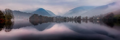 Misty Grasmere (Dave Massey Photography) Tags: lakedistrict grasmere cumbria panorama england nationalpark tranquil reflection serene