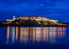 Petrovaradin Fortress (popov sin) Tags: tvrdjava novisad petrovaradin djava dunav danube bluehour fortress