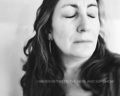 296.365.2019 (sadandbeautiful (Sarah)) Tags: me woman female self selfportrait dailyselfportrait day296 365 365days 365daysx9 bw