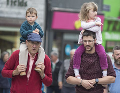 Family outing (Frank Fullard) Tags: frankfullard fullard candid street portrait family dad grandad boy girl children happy outing color colour view vantagepoint galway irish ireland