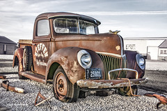 Rusted in Holy Cross, Iowa (jackalope22) Tags: htt rust bucket truck happy thursday holy cross iowa