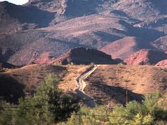 Road to nowhere (thomasgorman1) Tags: road landscape offroad arizona desert canon hills hill mountain trees