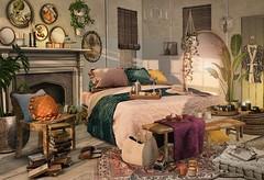 May all your vibes say: I got this (Trixie Lanley) Tags: concept kustom9 secondlife sl gacha bedroom decor whatnext groupgift granola nutmeg fancydecor