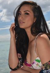 Eye Contact (Ctuna8162) Tags: tia hawaii oahu honolulu waikiki beach woman lovely bikini ocean smile portrait