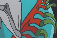 Dolphin (ewgqlbhd11) Tags: dolphin flipper swim fin streetscape streetart art artisitc perth kangaroo paw plant sea life