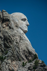 Profile of Washington, Mt. Rushmore (donberry37 (SF Bay Area)) Tags: memorial washington southdakota park president