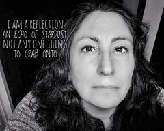 295.365.2019 (sadandbeautiful (Sarah)) Tags: me woman female self selfportrait dailyselfportrait day295 365 365days 365daysx9 bw