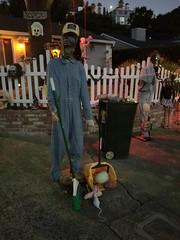 Garbage Man (danieljsf) Tags: halloween garbageman janitor zombie sancarlos