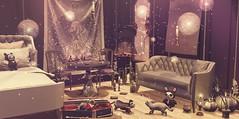 Magic could whisper (Sadystika Sabretooth) Tags: animals homedecor prismevents salem secondlife shopping ubersl anthem arcade beedesigns blackfair cubura dustbunny echo hextraordinary lagom rezzroom sayo thor