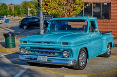 Nice Chevy (kendoman26) Tags: htt happytruckthursday chevypickup october2019morrisilcruisenight morriscruisenight morrisillinois sonyalpha sonyphotographing sonya6000 selp1650 hdr