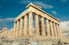 Partenón (Atenas) (TFNnaranjo) Tags: templo atenas doricos fortaleza partenón platea micalia persia dóricos nikon tfnnaranjo
