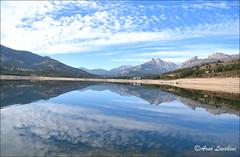 Calacuccia-1 (arno18☮) Tags: lac barrage montagne corse france arno18 calacuccia corte nikon golo reflets