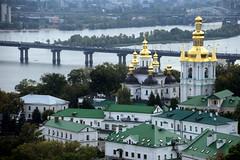 Looking Across The Dnieper (Alan1954) Tags: pechersk dnieper dniepr kiev ukraine monastery holiday 2019 platinumpeaceaward