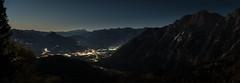 Golling at Night (Christoph Wenzel) Tags: gebirge nacht deutschland tamron2875mmf28diiiirxd bayern sonyalpha7riii rossfeldpanoramastrase urlaub alpen sterne berge herbst panorama dunkelheit natur astro kuchl salzburg österreich