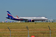 VP-BKJ (mduthet) Tags: vpbkj airbus a321 aeroflotrussianairlines parischarlesdegaulle