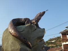 Dilapidated Komodo Dragon (m_artijn) Tags: dilapidated komodo dragon labuan bajo id national park statue