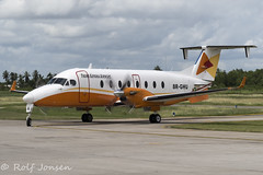 8R-GHU Beechcraft 1900D Trans Guyana Airways Georgetown-Ogle Airport SYGO 23.10-19 (rjonsen) Tags: plane airplane aircraft aviation airliner taxying airside motion blur winglets