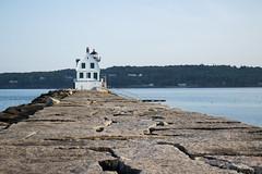Maine lighthouse Rockland (pistacchiop) Tags: lighthouse maine canon 100d