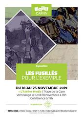 Les  Fusillés pour l'exemple | Exposition (Mairie de Carvin) Tags: lateliermédia culture mémoire premièreguerremondiale fusillés novembre 2019