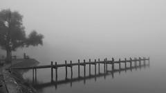 Bis zum Horizont (flori schilcher) Tags: schilcher ammersee nebel fog dust