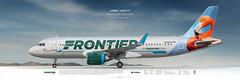 Airbus A320NEO Frontier Airlines (rulexy) Tags: posterjetavia aviation airliner airline airtransport airplane jetliner aviationlovers aviationfans avgeek airside aviationart instagramaviation civilaviation aircraftillustration