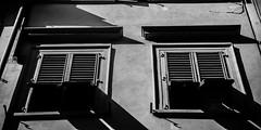 From life alone to life as one (.KiLTЯo.) Tags: kiltro italia it italy firenze florence street architecture city urban louver shade blind bw blackandwhite sanlorenzo
