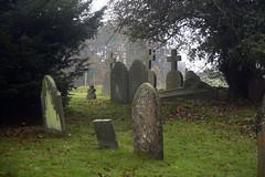 St. Peter's Church yard (Loon Man Returns) Tags: cotswolds upperslaughter england unitedkingdom uk graveyard churchyard cemetery cemeteries cemetary cemetaries cematery cemateries tombstone tombstones