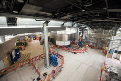 Whitechapel Station_327536 (Crossrail Project Press Images) Tags: crossrail woolwich whitechapel tottenham court road route control centre romford paddington maintenance management plumstead liverpool street farringdon canary wharf bond station testing comissioning