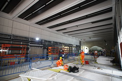 Bond Street Station_328584 (Crossrail Project Press Images) Tags: crossrail woolwich whitechapel tottenham court road route control centre romford paddington maintenance management plumstead liverpool street farringdon canary wharf bond station testing comissioning