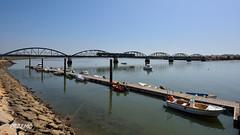 Ponte Ferroviária de Portimão (goprzemo) Tags: cp450 0456 portugal portimao algarve train regional diesel summer