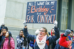 It Really Was Her Birthday (kirstiecat) Tags: happybirthday street chicago strike teachers lorilightfoot ctu chicagoteachersunion people canon colors socialjustice faircontract