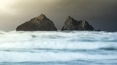 Sea Peaks (www.neilburnell.com) Tags: seascape nikon le motion sea islands rough storm light
