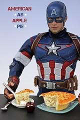 A-Z Challenge 3.0: A - Apple (MARVEL_DOLLS) Tags: az dollphotography challenge apple marvel comicbookcharacter captainamerica steverogers hottoys ageofultron 16scale actionfigure superhero chrisevans applepie