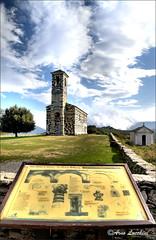 Murato (arno18☮) Tags: murato corse france eglise chapelle nuages architecture bleu nikon monument clocher calvi chiesa chiesetta corsica mnumento arno18