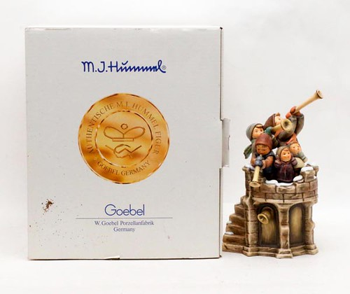 "1999 Hummel ""Fanfare"" porcelain figure group with box ($123.20)"