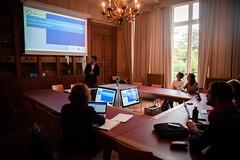 Soutenances du Mastère spécialisé IGE de MINES ParisTech (MINES_ParisTech) Tags: soutenance mastèrespécialisé msige fontainebleau chevalier