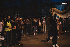 God's Entertainment: Ispod tepiha / Under the Carpet (Drugo More Rijeka) Tags: zoom zoomfestival 2019 godsentertainment performance art installation exhibition carpet rug nationalism croatia coatofarms flag zoomgods