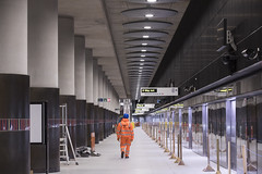 Woolwich Station_328178 (Crossrail Project Press Images) Tags: crossrail woolwich whitechapel tottenham court road route control centre romford paddington maintenance management plumstead liverpool street farringdon canary wharf bond station testing comissioning