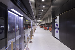 Woolwich Station_328161 (Crossrail Project Press Images) Tags: crossrail woolwich whitechapel tottenham court road route control centre romford paddington maintenance management plumstead liverpool street farringdon canary wharf bond station testing comissioning